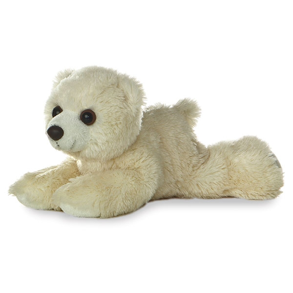POLAR BEAR MINI FLOPSIE PLUSH
