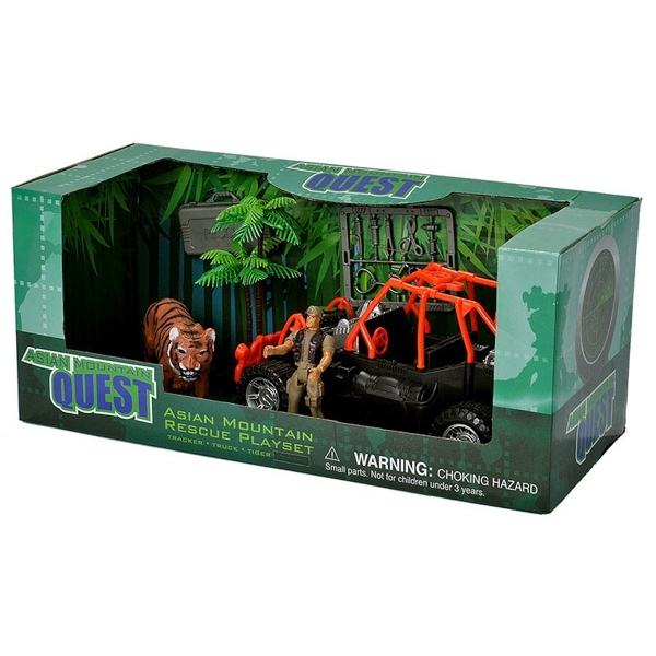 ASIAN QUEST MOUNTAIN RESCUE PLAYSET