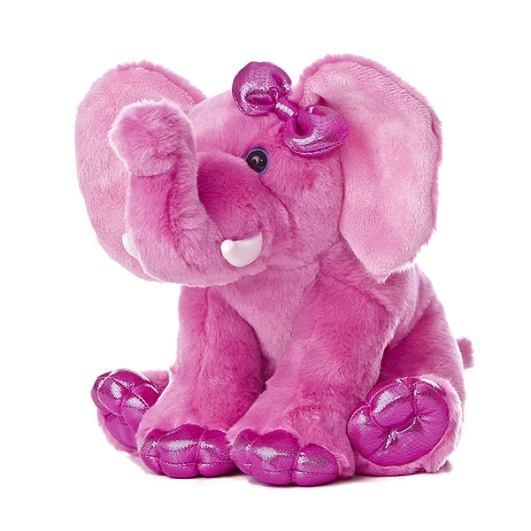 ELEPHANT DESTINATION NATION PLUSH PINK
