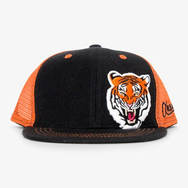 ADULT BASEBALL HAT TIGER AMP'D BLUE