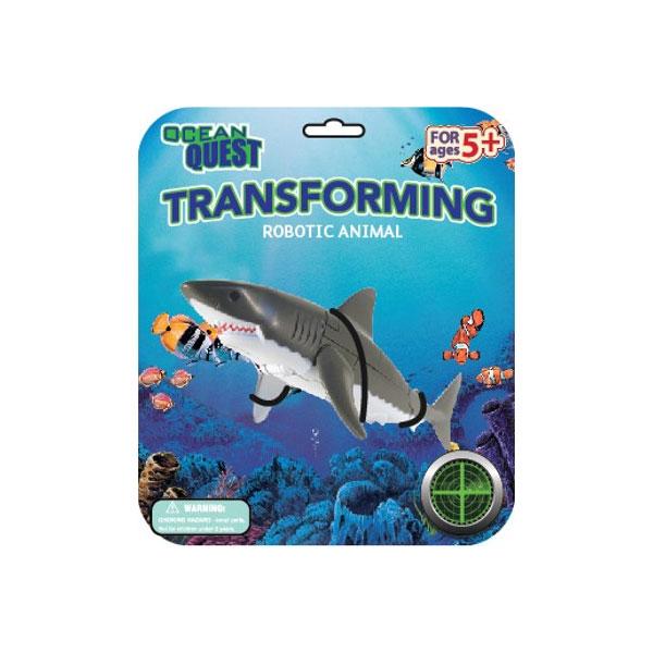 OCEAN QUEST TRANSFORMING SHARK
