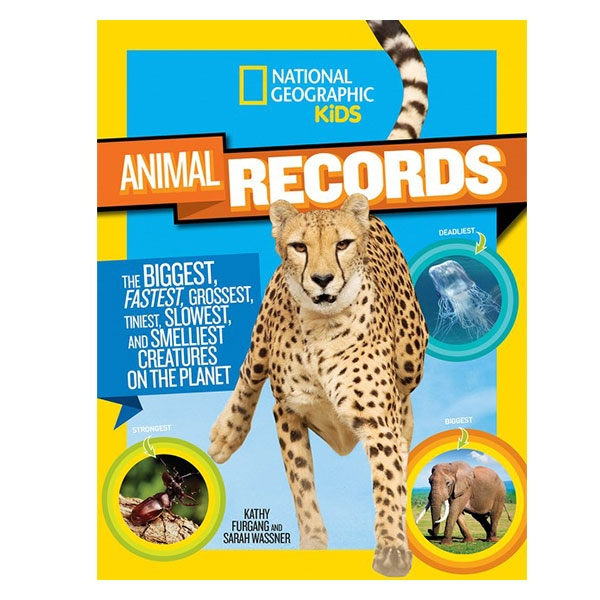 ANIMAL RECORD BREAKERS BOOK