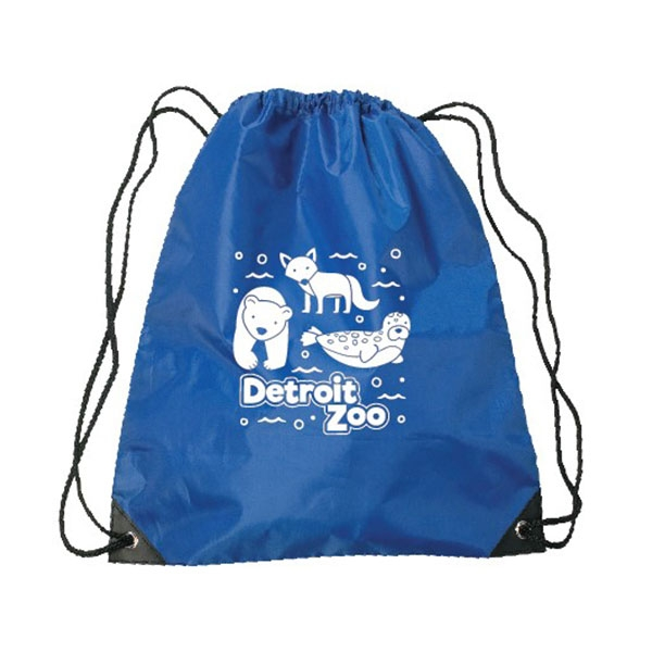 BACKPACK DRAWSTRING ARCTIC ANIMALS ROYAL