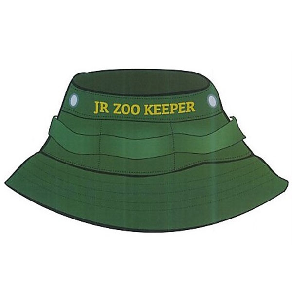 YOUTH BUCKET HAT JUNIOR ZOOKEEPER OLIVE