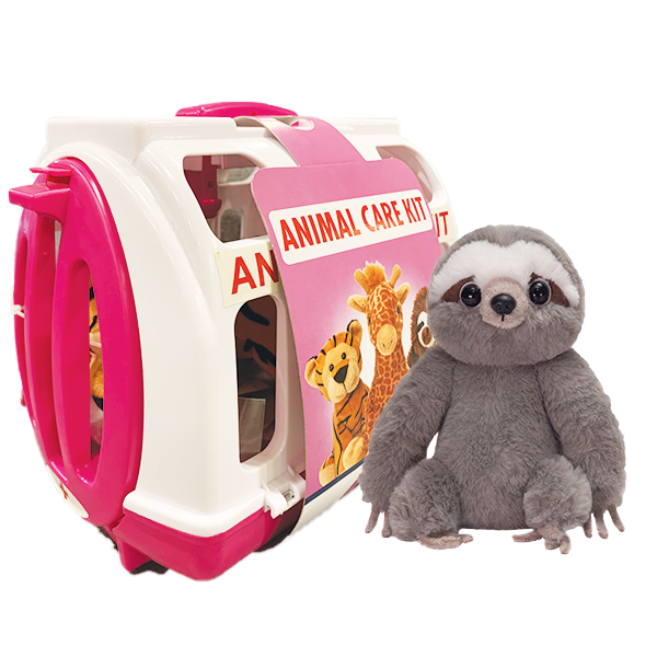 SLOTH PET RESCUE CARRIER PINK