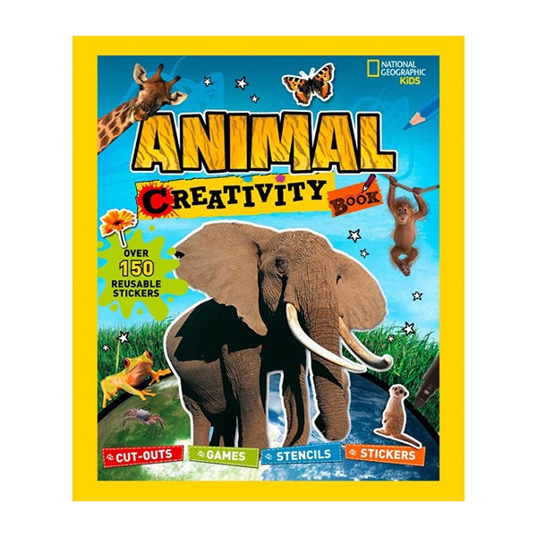 "NATIONAL GEOGRAPHIC KIDS"" ANIMAL CREATIVITY BOOK"