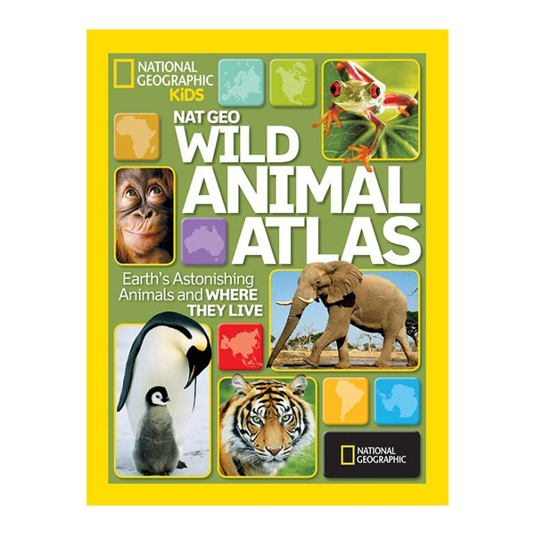 NATIONAL GEOGRAPHIC WILD ANIMALS ATLAS