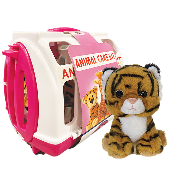 TIGER PET RESCUE CARRIER PINK