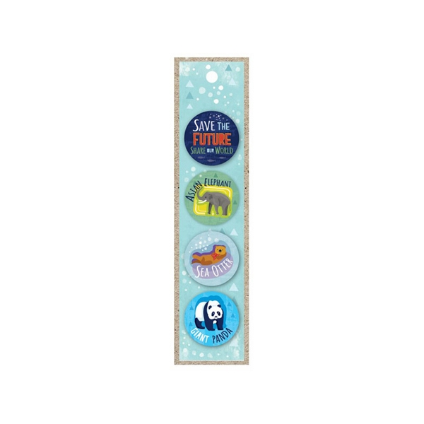 BUTTONS 4 PK SAVE FUTURE