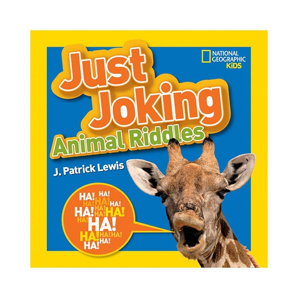 NATIONAL GEOGRAPHIC KIDS JUST JOKING ANIMAL RIDDLES BOOK