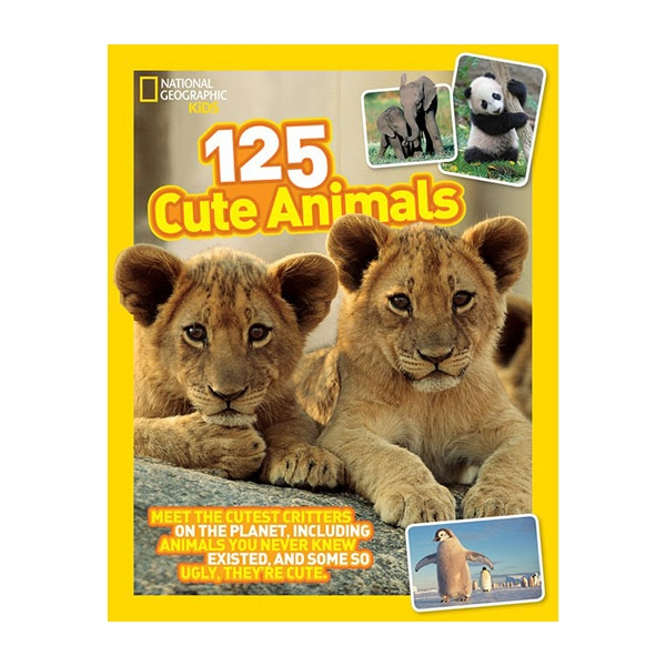 125 CUTE ANIMALS BOOK