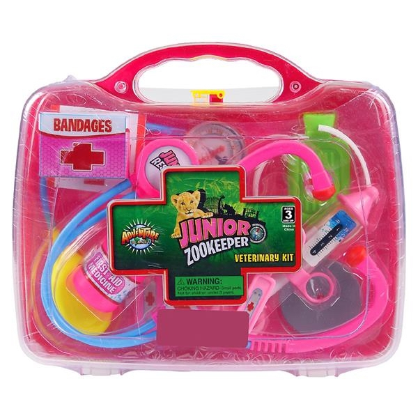 JUNGLE VETERINARY KIT PINK