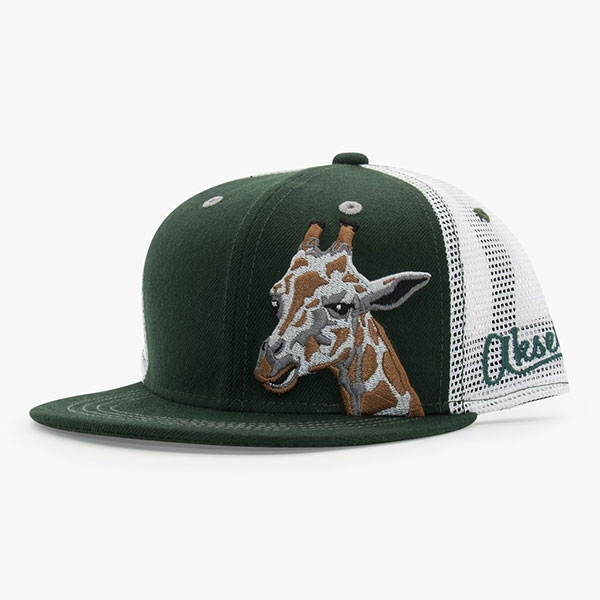 YOUTH BASEBALL HAT GIRAFFE