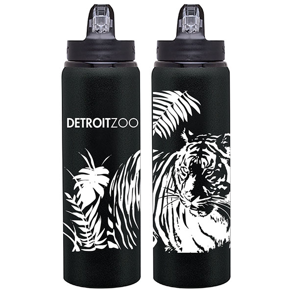 BOTTLE MATTE TIGER