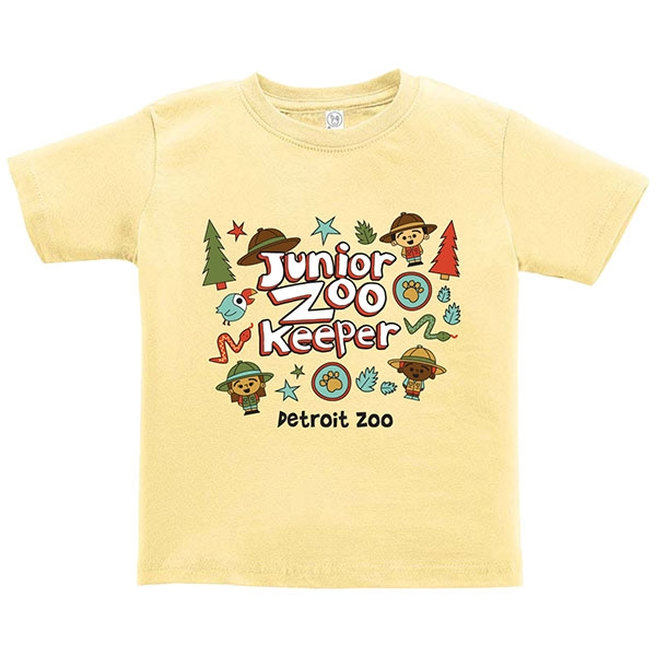 TODDLER SHORT SLEEVE JUNIOR ZOOKEEPER BANANA