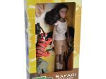 HISPANIC SAFARI DOLL WITH TIGER